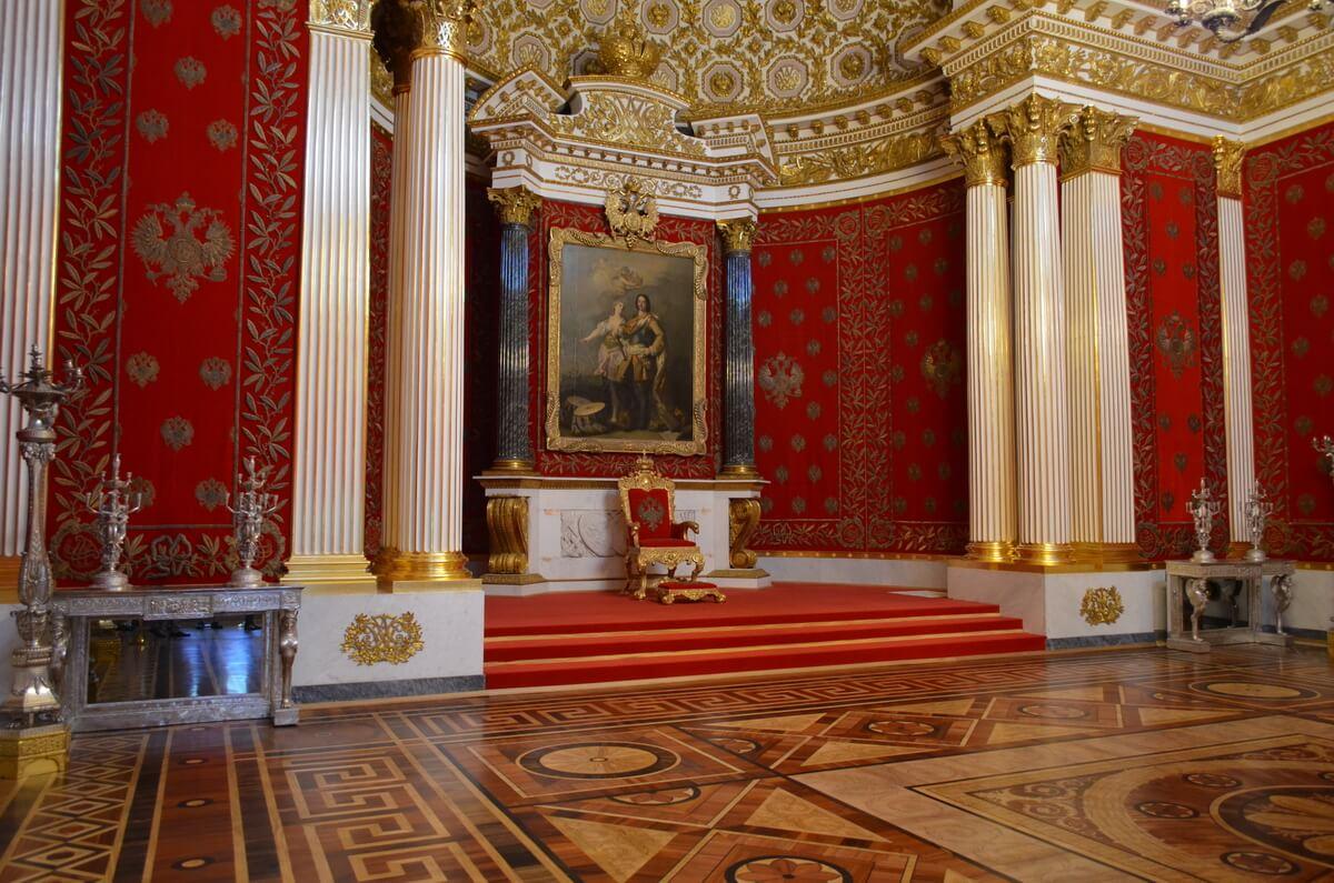 Малый тронный зал Эрмитаж