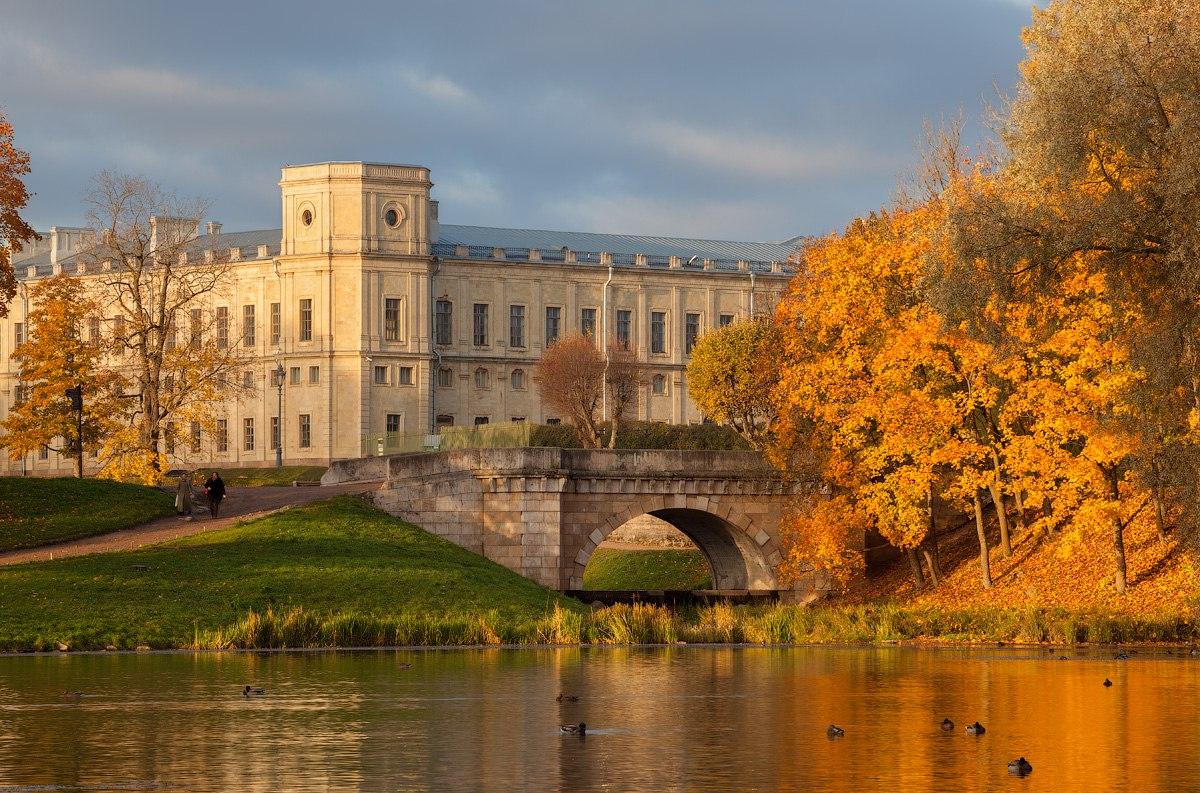 Большой гатчинский дворец