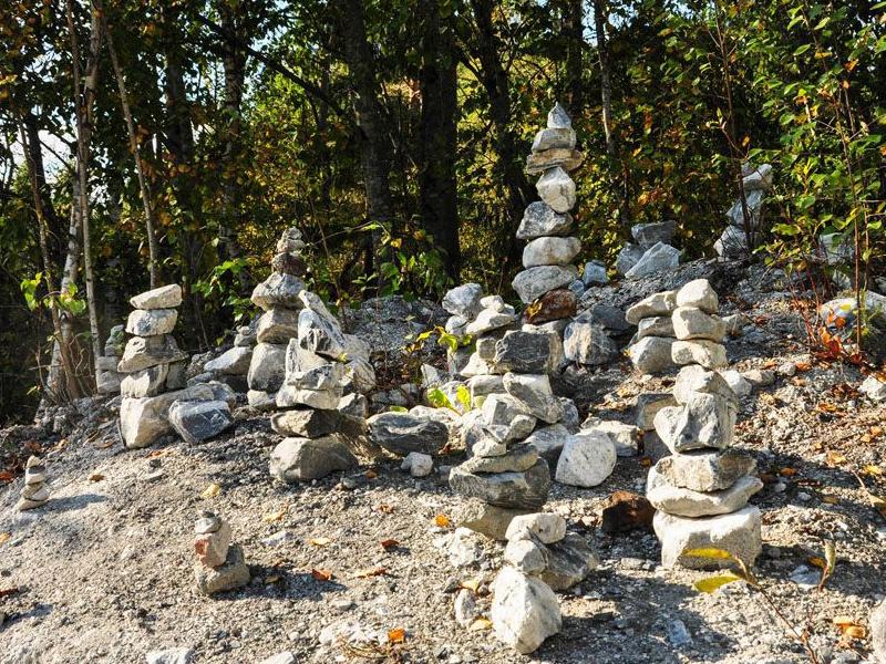 Сад камне в Рускеале