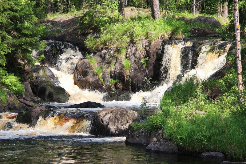 Горные водопады Рускеалы